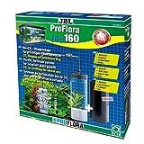 JBL ProFlora bio160 63042 Bio-CO2-Düngeanlage mit erweiterbarem Diffusor für gesunden Pflanzenwuchs in Aquarien von 50-160 l